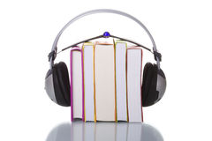 audiobooks Photographie stock libre de droits