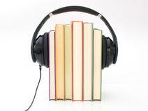 Audiobooks begrepp r fotografering för bildbyråer