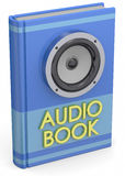 Audiobooks Concept -3D Stock Photos