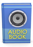 Audiobooks Concept - 3D Royalty Free Stock Photo