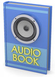 Audiobooks Concept -3D Royalty Free Stock Image