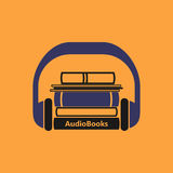Audiobooks-Logo Stockbilder