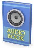 Audiobooks pojęcie -3D Obraz Royalty Free
