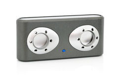 Audiobox und MP3-player Lizenzfreie Stockfotos