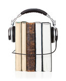 Audiobuch Lizenzfreies Stockfoto