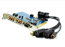 Audiocard dla komputeru i Midi kabla Fotografia Stock