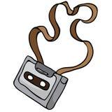 Audiocassette Royalty-vrije Stock Afbeelding