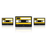 Audiocassette. Vector Illustration Royalty Free Stock Photography