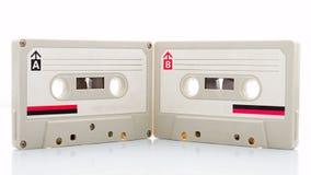 Audiocassetteband Royalty-vrije Stock Foto's
