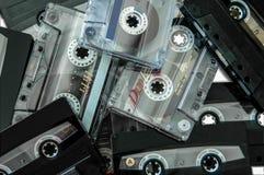 audiocassettes starzy Obrazy Stock