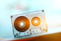 Audiocassettes voor de danswijnoogst van de registreertoestelpartij Stock Fotografie