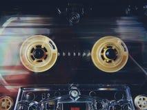 Audiocassettes voor registreertoestel royalty-vrije stock foto's