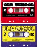 Audiocassetteverslagen Royalty-vrije Stock Fotografie