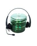 Audiocd lizenzfreie stockfotografie