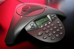 Audioconferência Imagens de Stock
