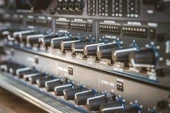 Audioconsole Stock Fotografie