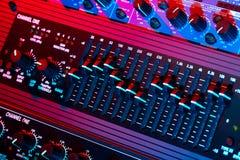 Audioentzerrer vektor abbildung