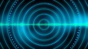 Audioentzerrerhintergrund Loopable