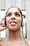 Audiofreude Lizenzfreie Stockfotos