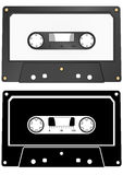 Audiokassette Stockbild