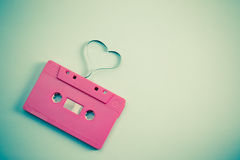 Audiokassette Lizenzfreies Stockfoto