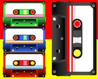 Audiokassette lizenzfreies stockbild