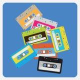 Audiokassetten Lizenzfreie Stockfotos