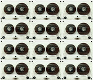 Audiokassetten für Recorder Lizenzfreies Stockfoto