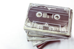 Audiokassetten - Retrostil Stockbild
