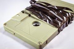 Audiokassetten - Retrostil Stockfotos