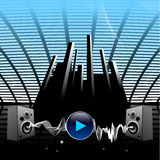 Audiolautsprecher Lizenzfreies Stockbild