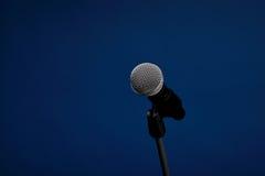 Audiomikrofon Stockfotografie