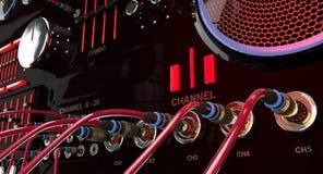 Audiomischen lizenzfreie stockfotos