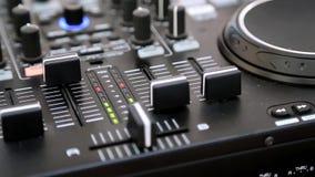 Audiomixer stock footage
