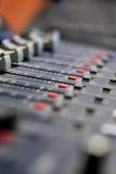 Audiomixer Royalty-vrije Stock Fotografie