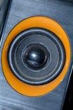 Audiomusic_audiogeluid van Pengerassuara sistem Stock Foto