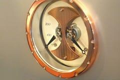 Audiophile Audioenergieleistung- in wattmeter lizenzfreies stockfoto