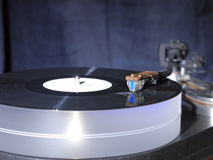 Audiophile HiFi turntable player. Royalty Free Stock Photo