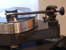 Audiophile HiFi turntable player. Stock Photography