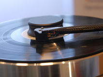 Audiophile HiFi turntable player. Stock Images