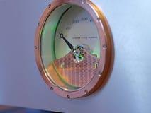 Audiophile Hifiversterker met potentiometer royalty-vrije stock afbeelding