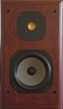 Audiophile loudspeaker. Tightly cropped image of high quality loudspeaker Royalty Free Stock Photography