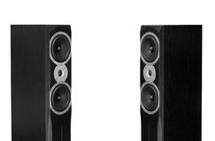 Audiophile speakers Royalty Free Stock Photo
