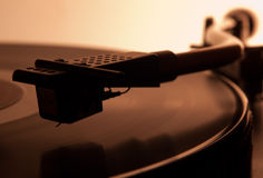 Audiophile turntable Royalty Free Stock Photography