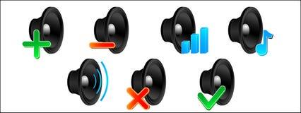 AudioSet Lizenzfreies Stockbild