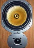Audiospeaker Lizenzfreie Stockfotos