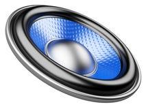 Audiosprecher stock abbildung