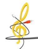 Audiostudio Lizenzfreies Stockfoto