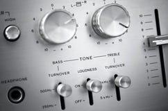 Audiosysteem Stock Afbeeldingen