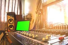 Audiosysteem Royalty-vrije Stock Afbeelding